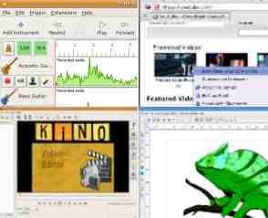 Leitura do Mundo Linux: Editores de Vídeo, Áudio e Imagens Vetoriais