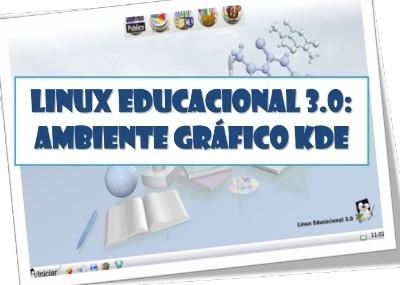 Linux Educacional 3.0: Manual do KDE