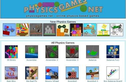 Jogos sobre física