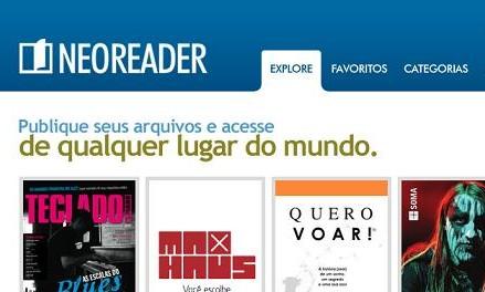 NeoReader: ferramenta on-line para publicação