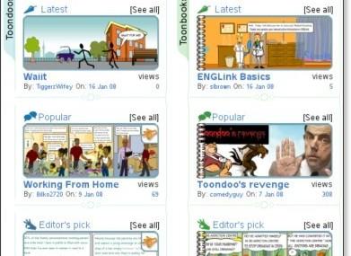 ToonDoo: Editor de Histórias em Quadrinhos On-Line