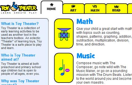 Toy Theather – Jogos educacionais para crianças