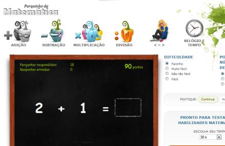 Jogos: 4 Operações Matemáticas