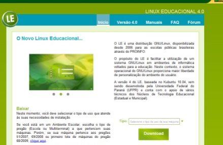 C3SL – Reformula o site de desenvolvimento do Linux Educacional