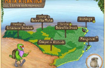 Jogos Educacioanis: Mata Atlântica: o bioma onde eu moro