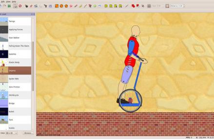 Physion: Software para simulações físicas